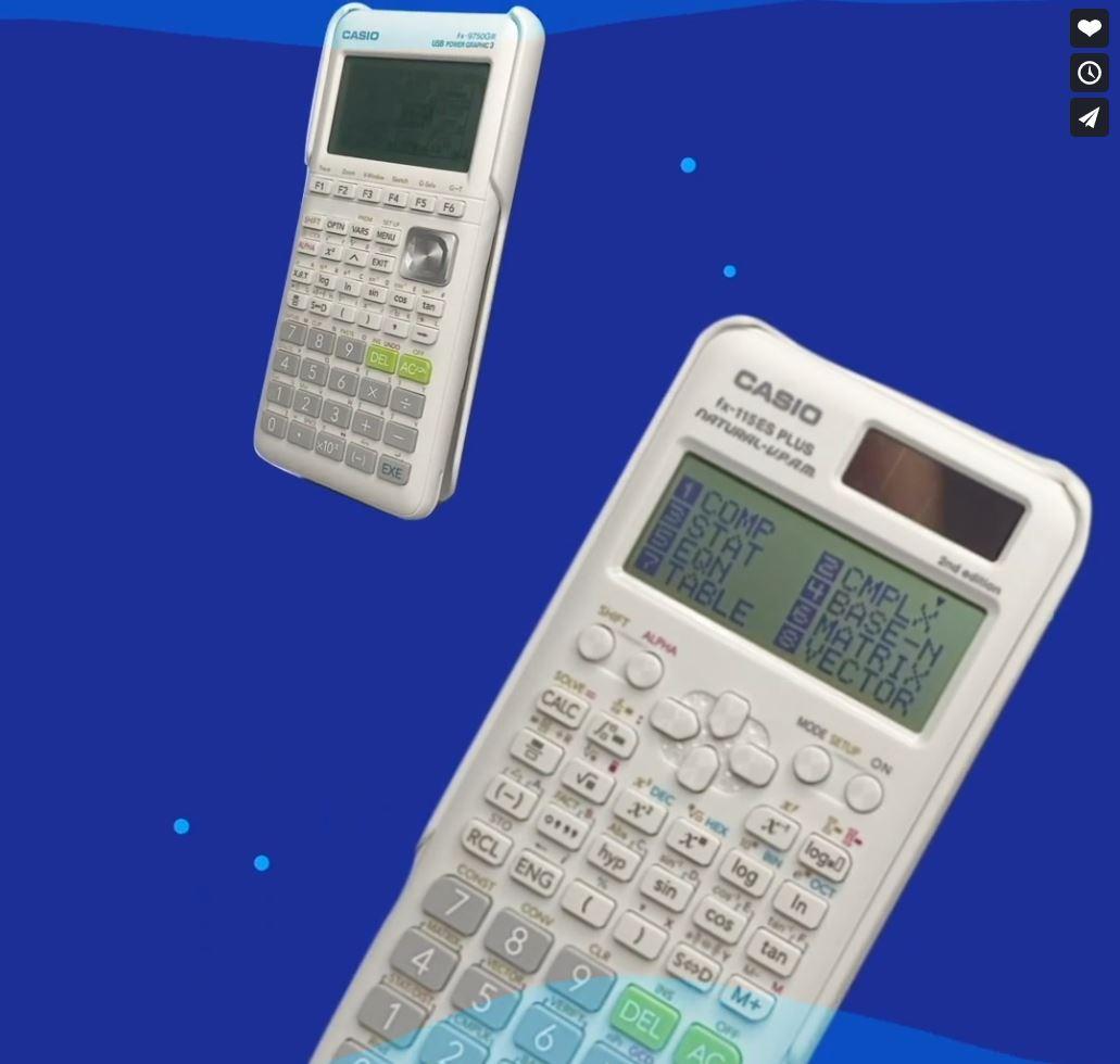 Casio Calculator Newsletter Social Post