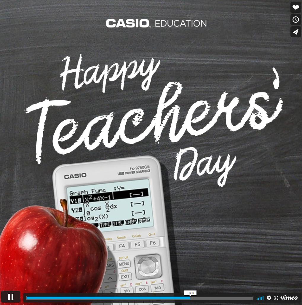 Teachers' Day Social Post